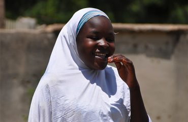 Amina, 20, from northern Nigeria.