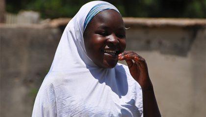 Amina, 20, from northern Nigeria.
